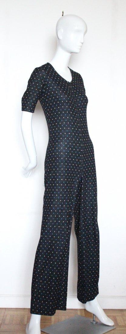 Yves Saint Laurent Rive Gauche Knit Jumpsuit, ca. 1973