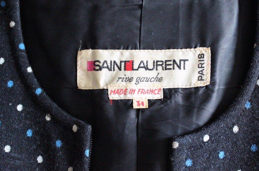 Yves Saint Laurent Rive Gauche Knit Jumpsuit, ca. 1973 - 4