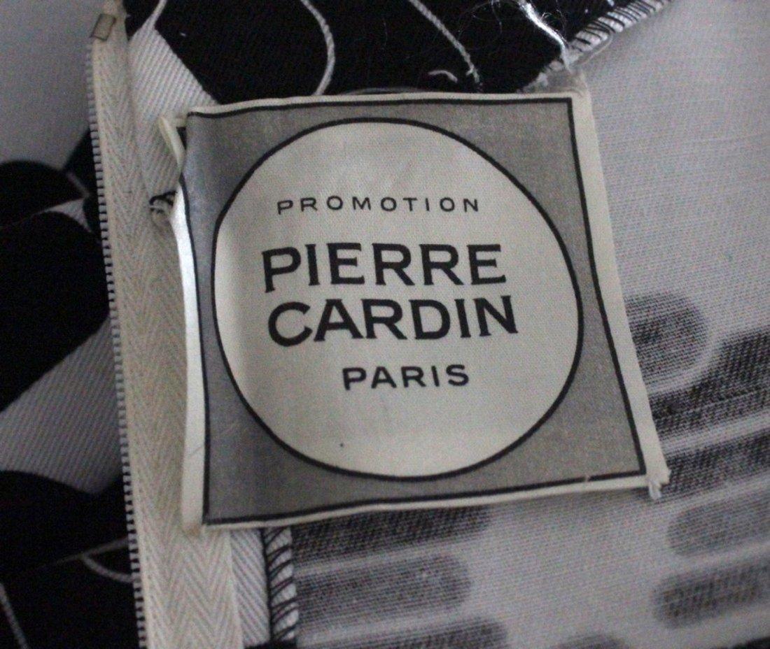 Pierre Cardin Paris Black & White Dress, 1973 - 4