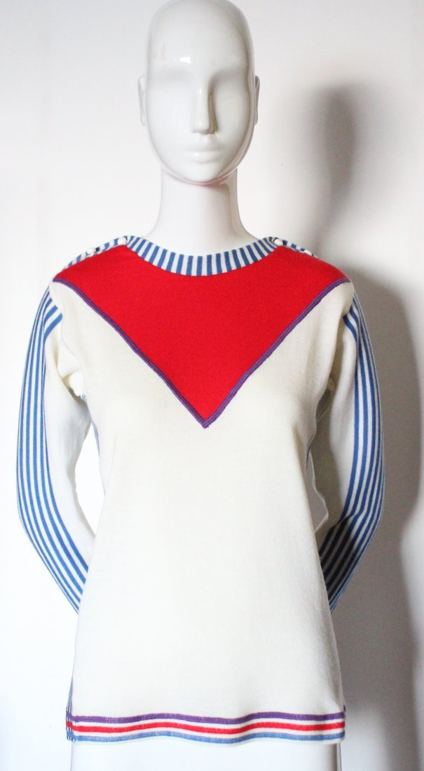 Yves Saint Laurent Wool Sweater, ca. 1970's
