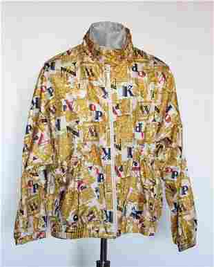 Bovattini Sportswear Printed Windbreaker ca 1990s