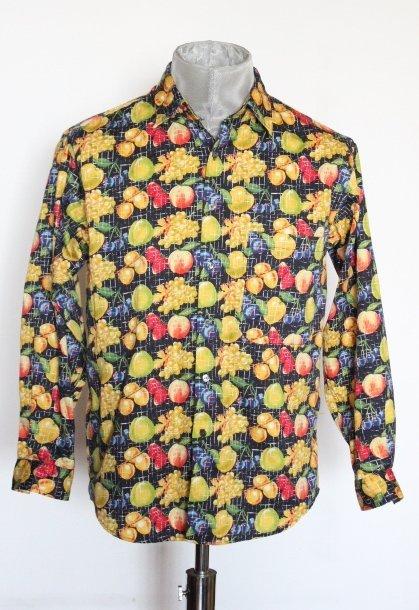 Paul Smith Fruit Print Men's Shirt, ca. 1990's