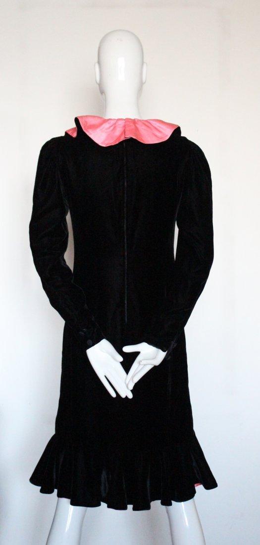 Oscar De La Renta Flamenco Inspired Dress, ca. 1980's - 4