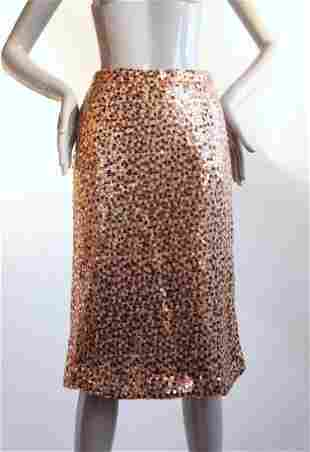 Saks Fifth Avenue Sequined Skirt ca 1960s