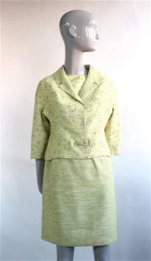 JeanMichel de Paris Green Suit ca 1960s
