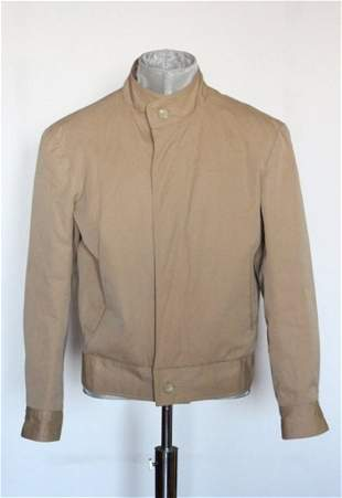 Alixandre New York Fur Lined Mens Jacket ca1970s