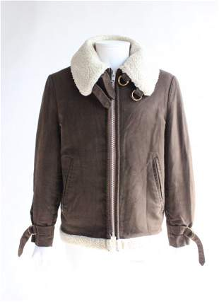Woolrich Faux Shearling Lined Mens Jacket 1970s