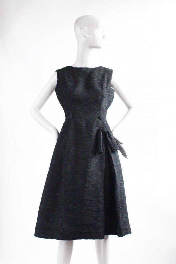 Christian Dior Black Cocktail Dress, F/W 1957