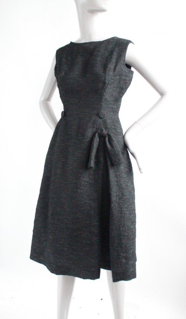Christian Dior Black Cocktail Dress, F/W 1957 - 2