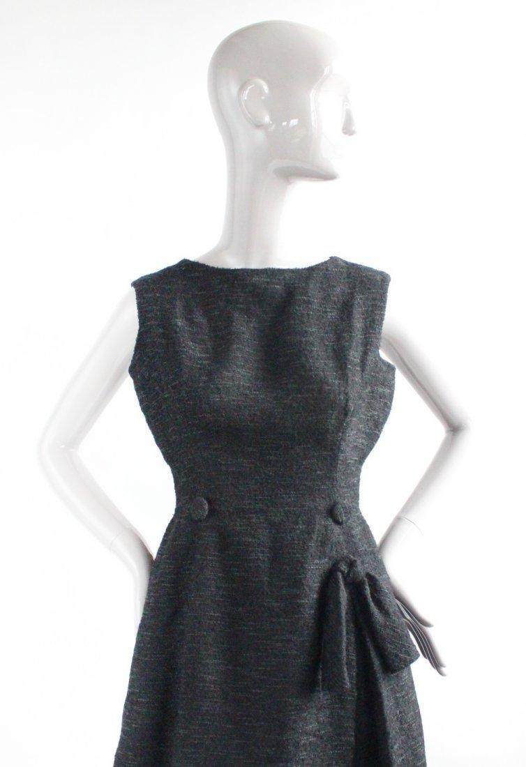 Christian Dior Black Cocktail Dress, F/W 1957 - 3