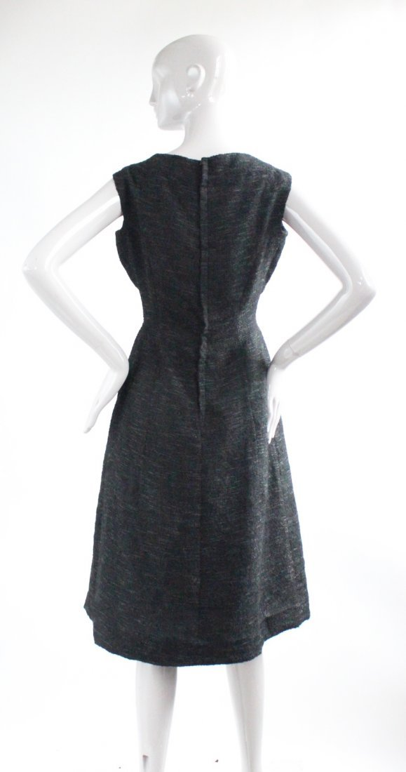 Christian Dior Black Cocktail Dress, F/W 1957 - 4