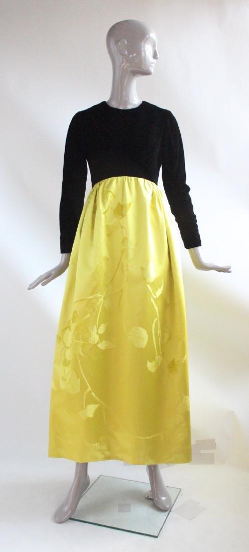 Bill Blass for Maurice Rentner Evening Dress, ca.1962