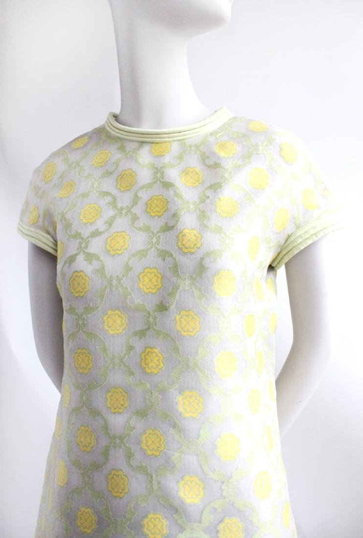 Pierre Cardin Demi Couture Silk Dress, ca.1967 - 2