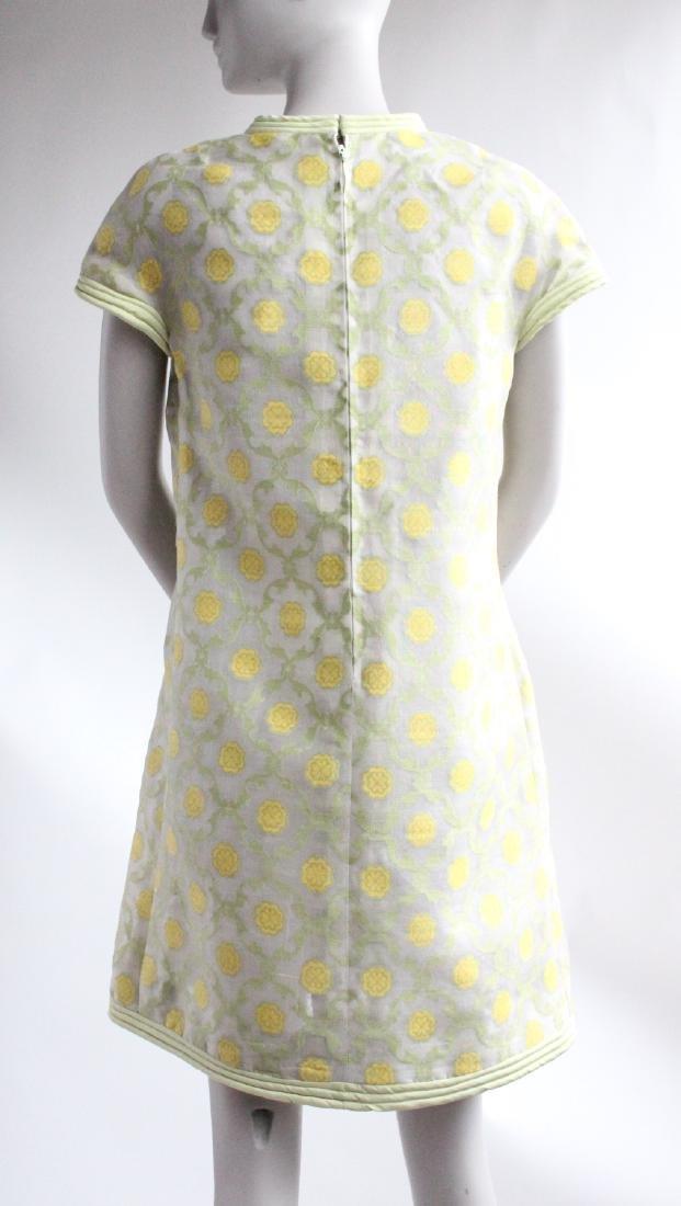Pierre Cardin Demi Couture Silk Dress, ca.1967 - 3
