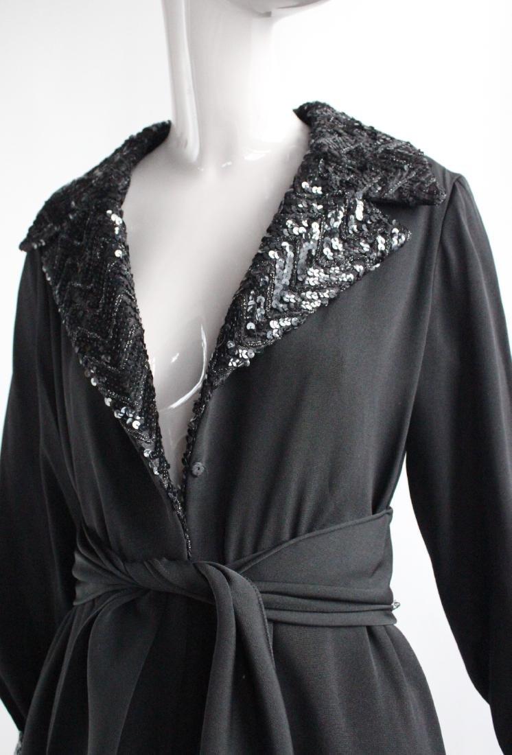 Oscar de La Renta Couture Black Dress, ca.1960's - 2
