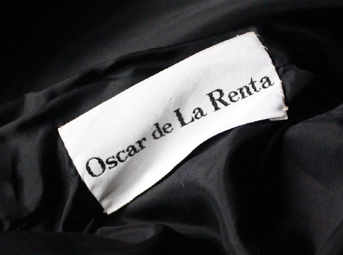 Oscar de La Renta Couture Black Dress, ca.1960's - 4