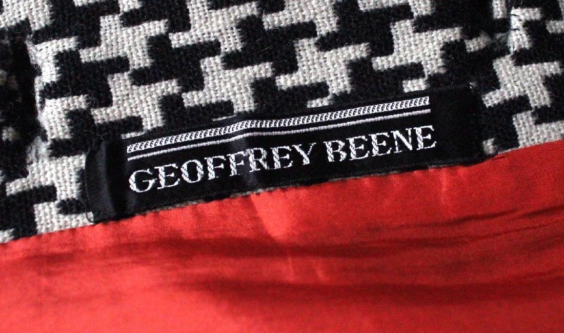 Geoffrey Beene Black & White Wool Tunic, ca. 1960's - 3