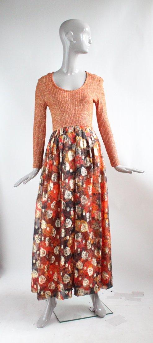 Futura Couture of New York Maxi Dress, ca. 1970s