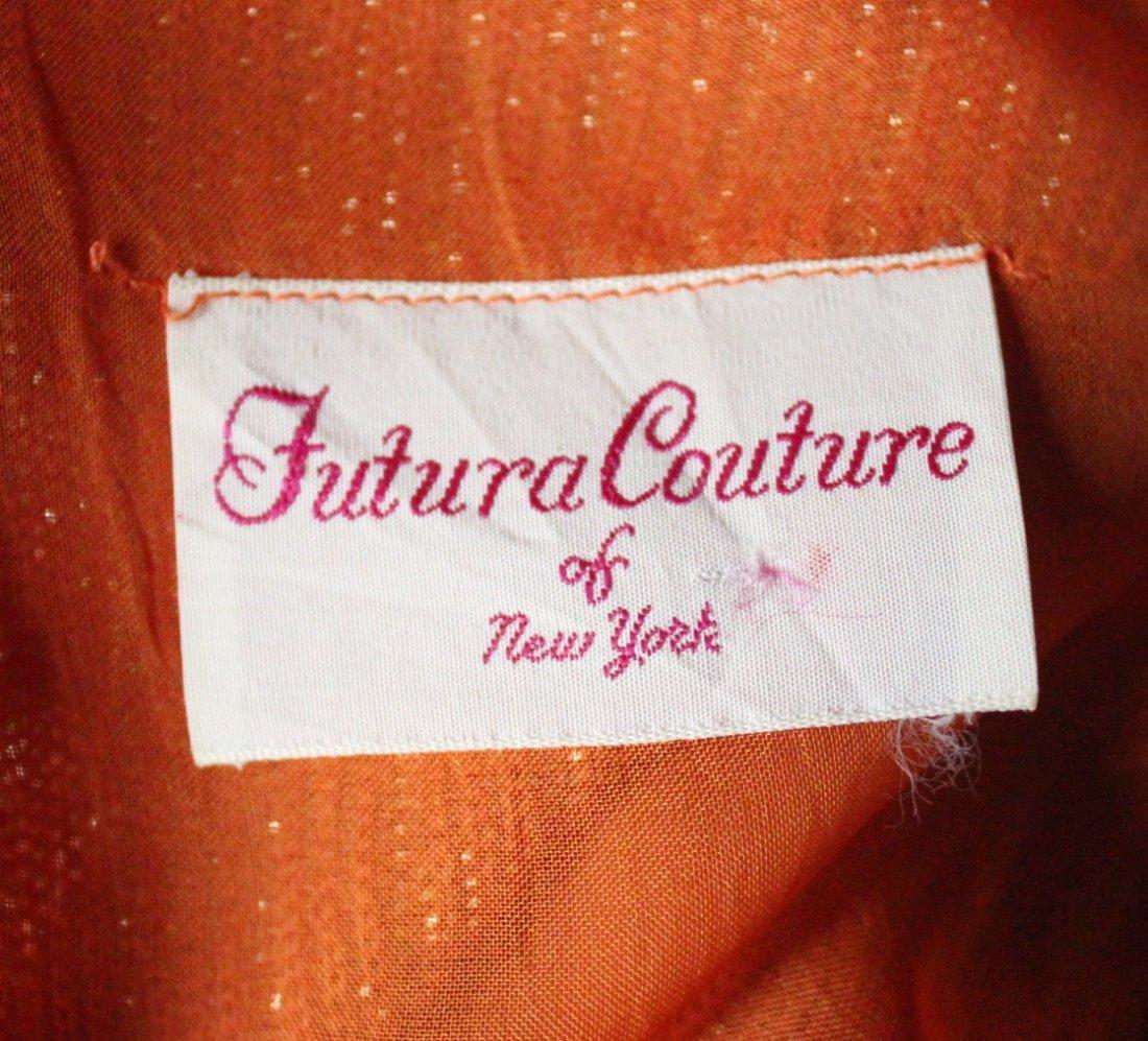 Futura Couture of New York Maxi Dress, ca. 1970s - 3