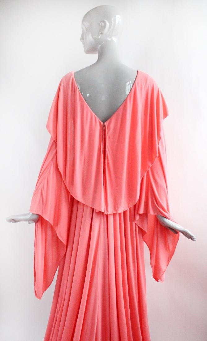 Mollie Parnis Couture Silk Jersey Evening - 4