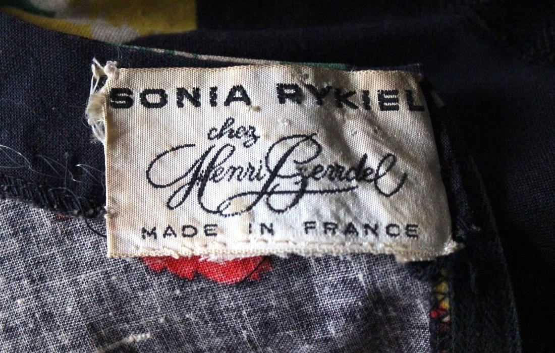 Sonia Rykiel for Henri Bendel Floral Cotton Dress 1970s - 3