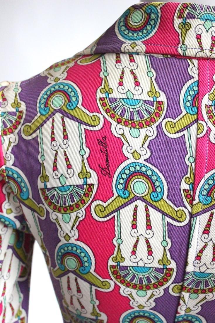 Domitilla Veneziano Printed Cotton Suit, ca. - 5