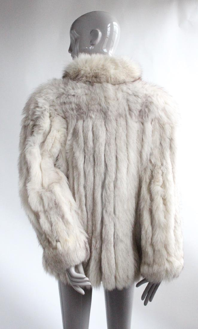 Saga Fur Natural Blue Fox Coat, ca. 1980's - 2