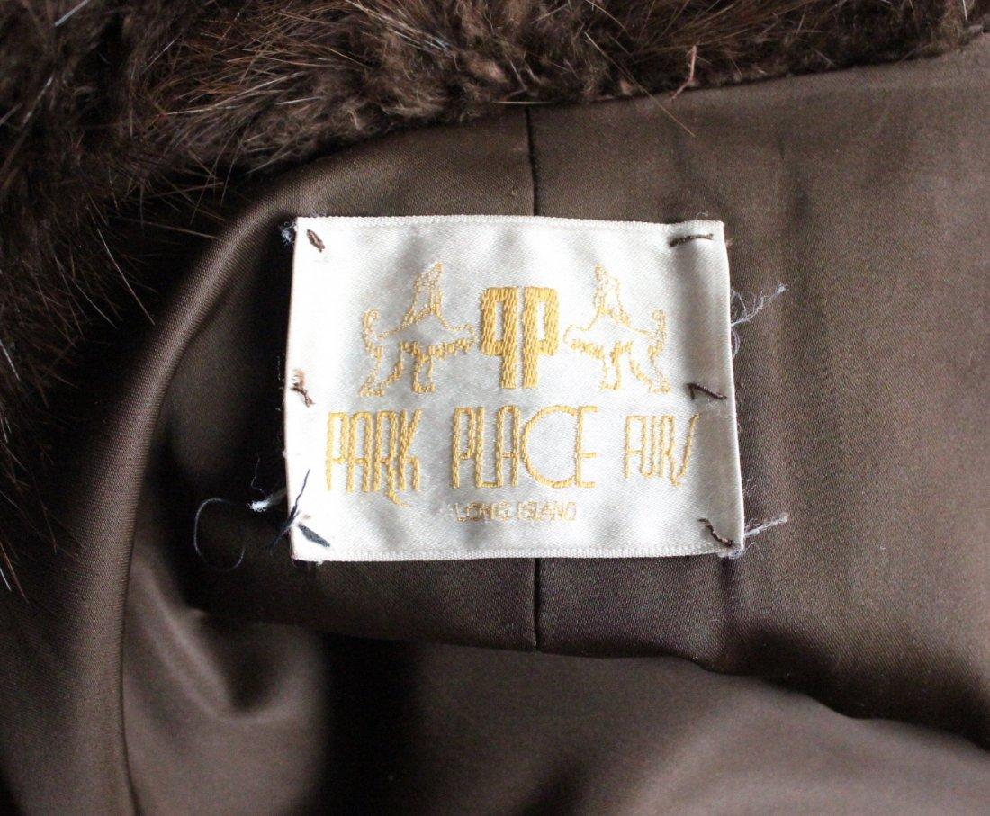 Park Place Furs Beaver Fur Full Length  Coat, 1980s - 4