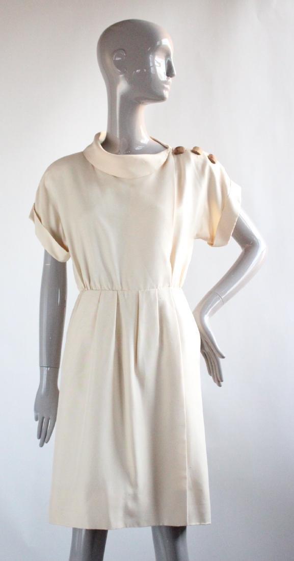 Yves Saint Laurent Haute Couture Silk Dress, S/S 1991 - 3