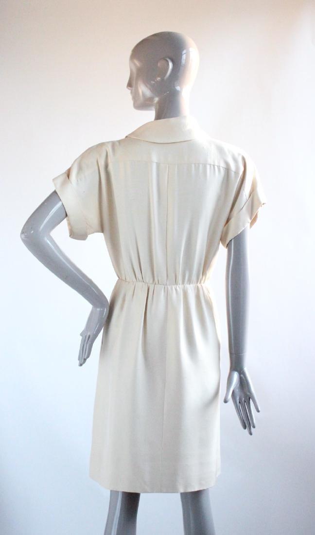 Yves Saint Laurent Haute Couture Silk Dress, S/S 1991 - 4