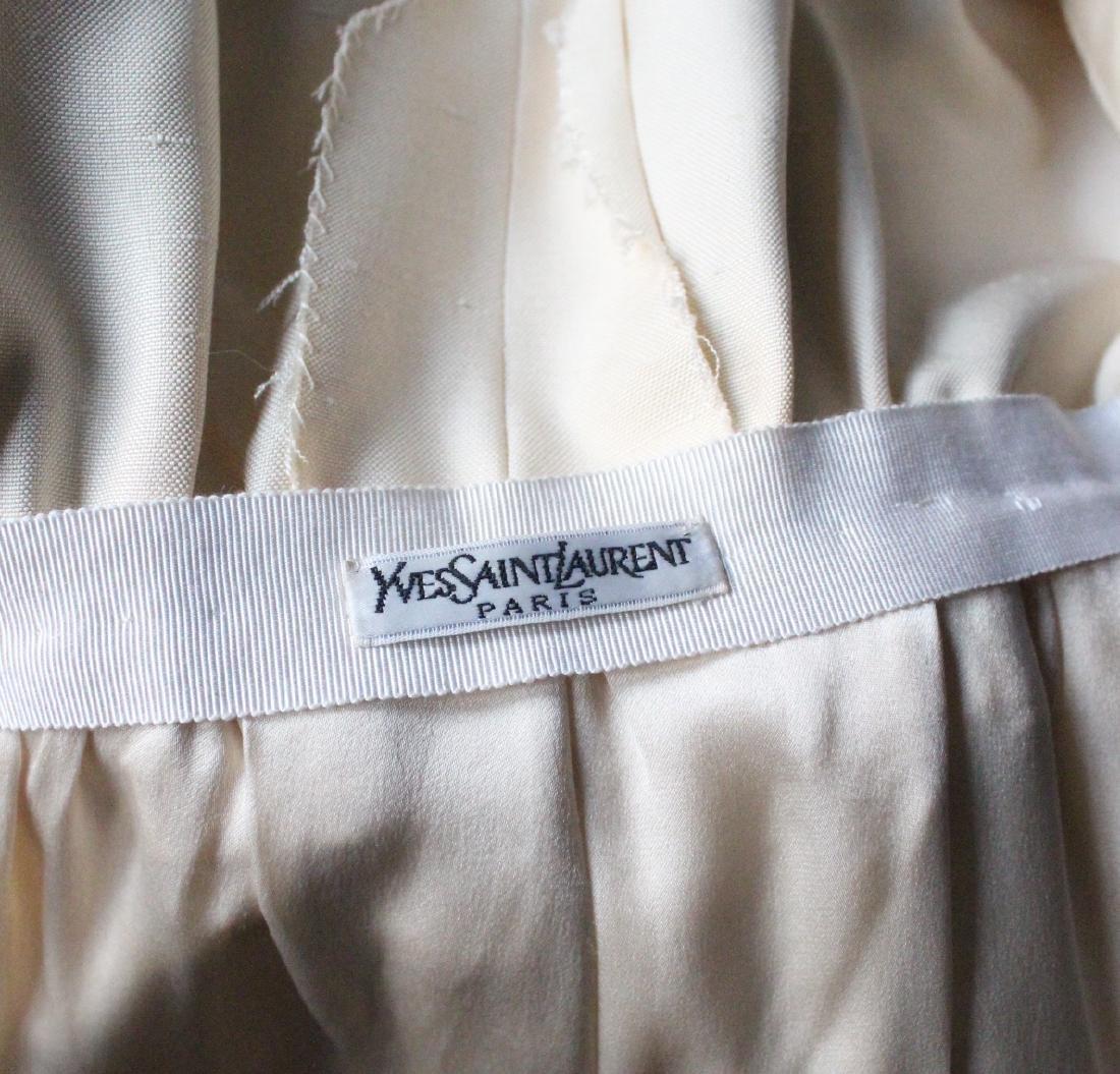 Yves Saint Laurent Haute Couture Silk Dress, S/S 1991 - 5