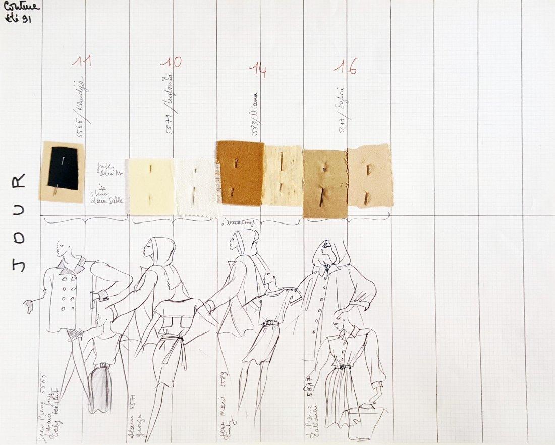 Yves Saint Laurent Haute Couture Silk Dress, S/S 1991 - 8