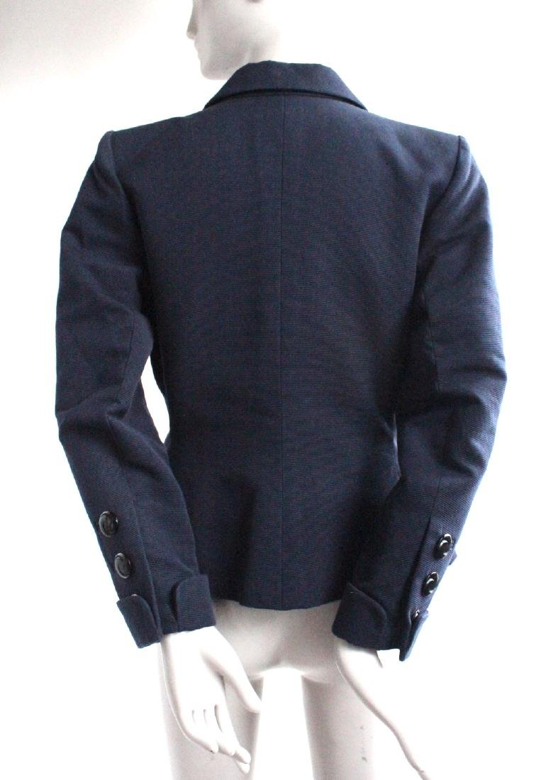 Yves Saint Laurent Rive Gauche Blue Jacket, 1990's - 2