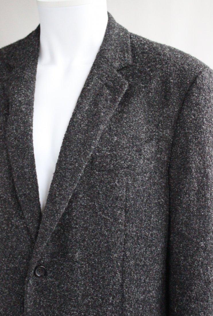 Giorgio Armani Baby Alpaca & Silk Gray Men's Jacket - 2
