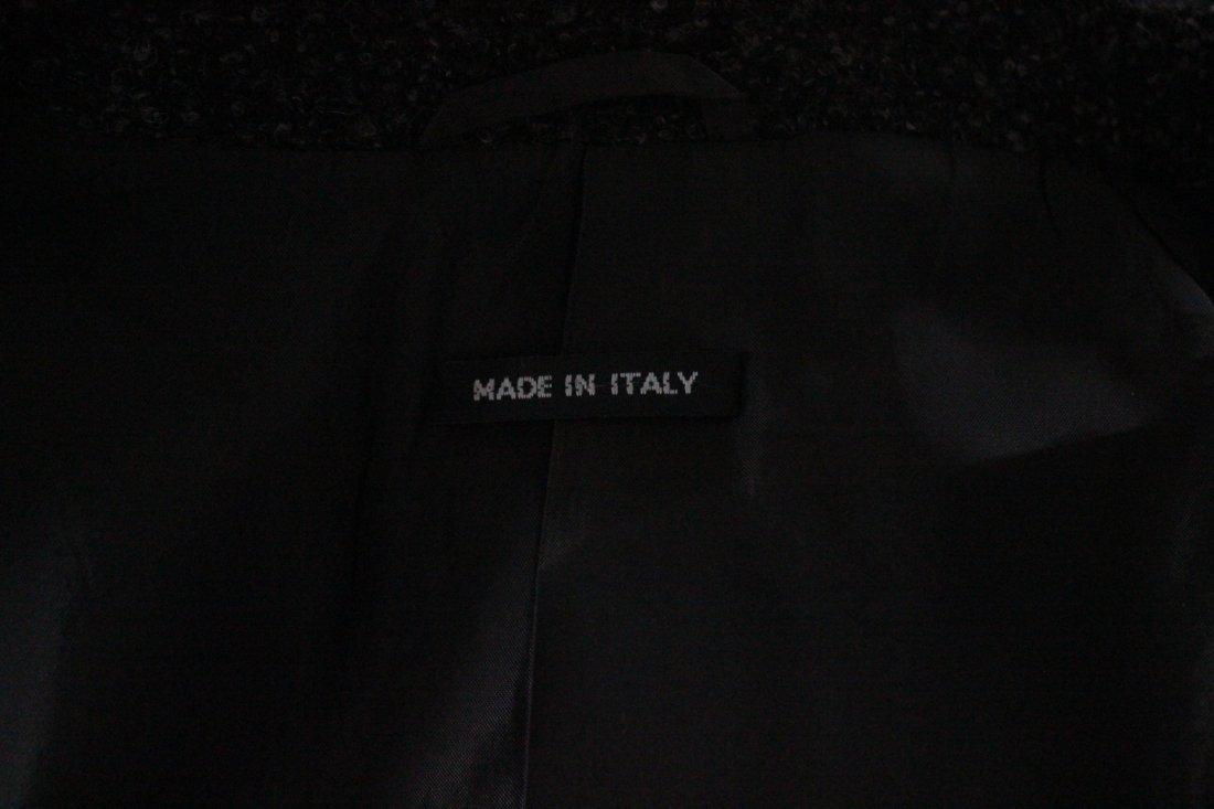 Giorgio Armani Baby Alpaca & Silk Gray Men's Jacket - 5