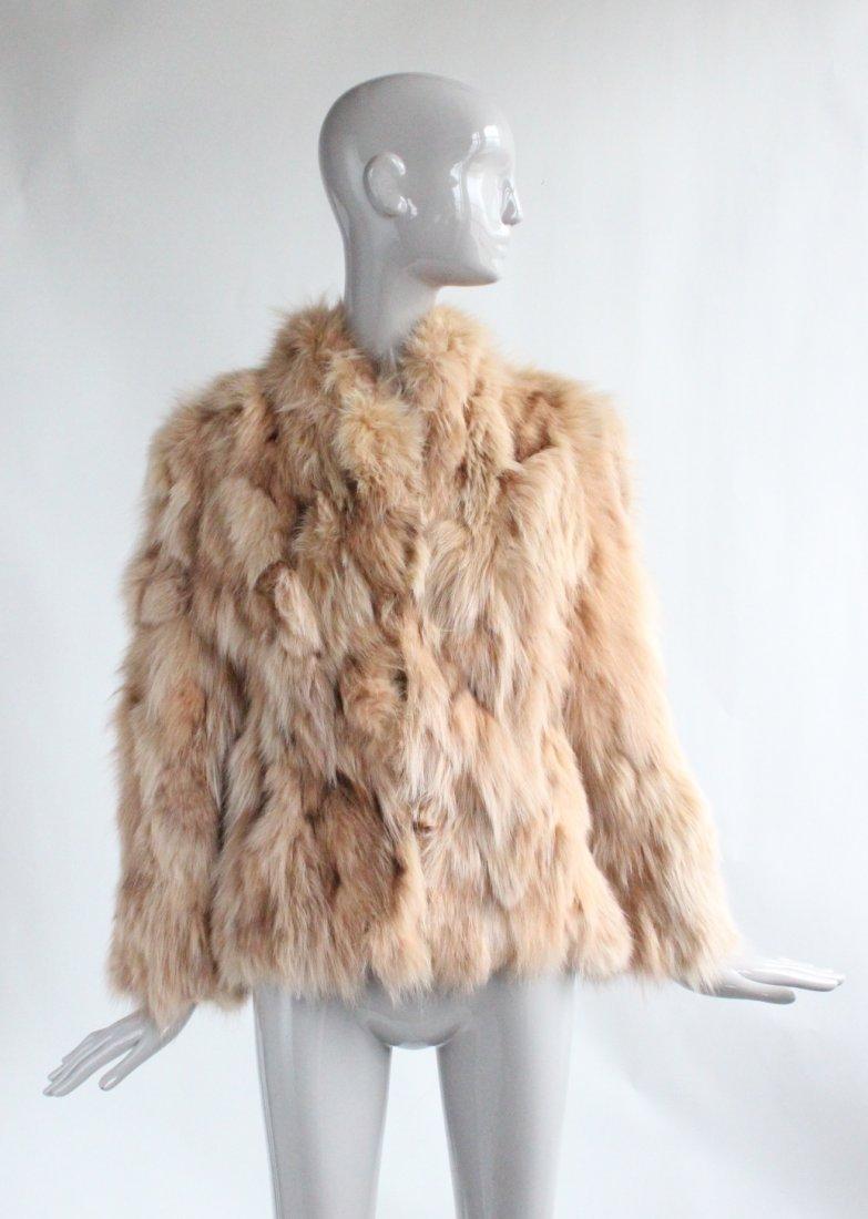 Dennis Basso Studio Fox Fur Coat, ca. 1990's