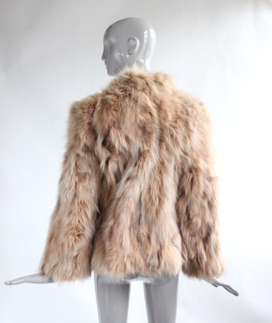Dennis Basso Studio Fox Fur Coat, ca. 1990's - 2
