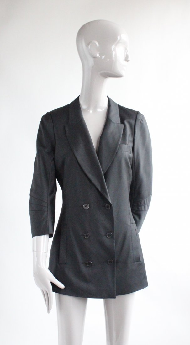 Alexander Wang Black Wool & Silk Jacket, 2010's
