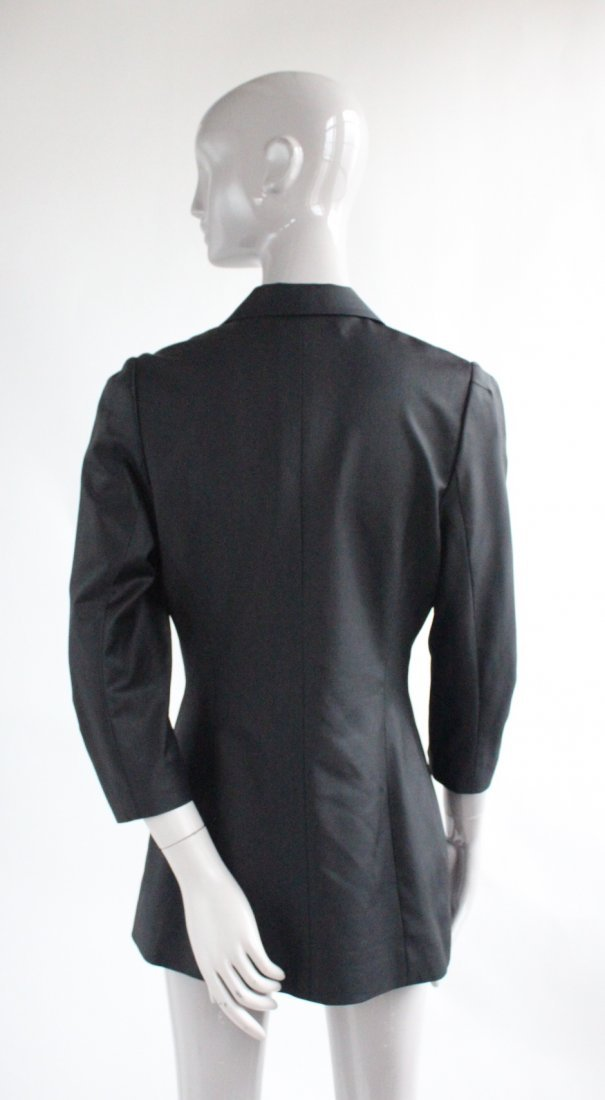 Alexander Wang Black Wool & Silk Jacket, 2010's - 2
