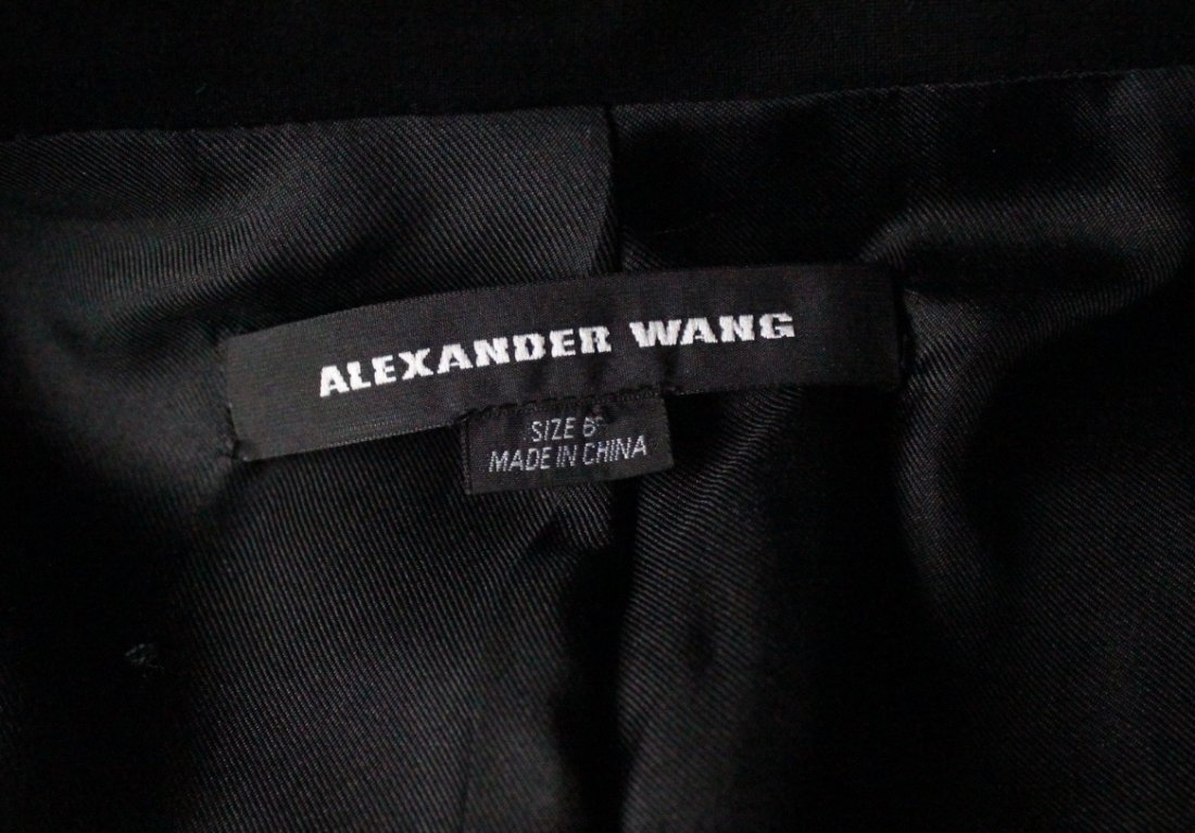 Alexander Wang Black Wool & Silk Jacket, 2010's - 3