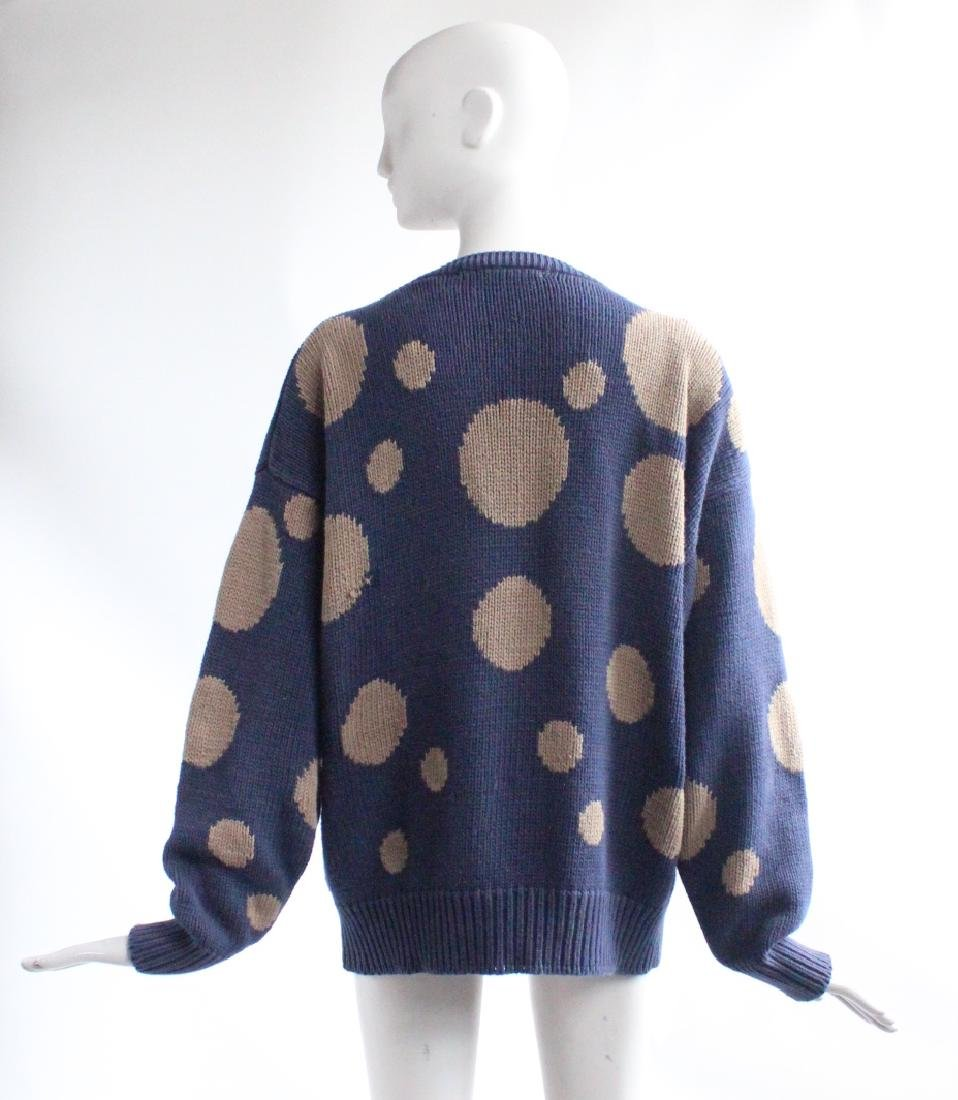 Perry Ellis by Marc Jacobs Polka Dot Sweater, F/W 1991 - 2