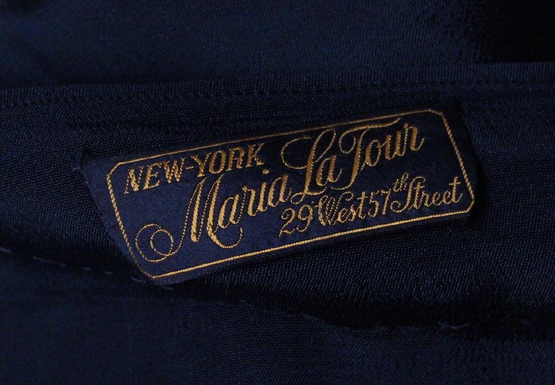 Maria La Tour Black Lace Dress, ca. 1920's - 4