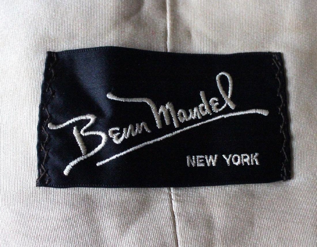 Benn Mandel New York White Ermine Fur Stole, ca. 1950's - 3