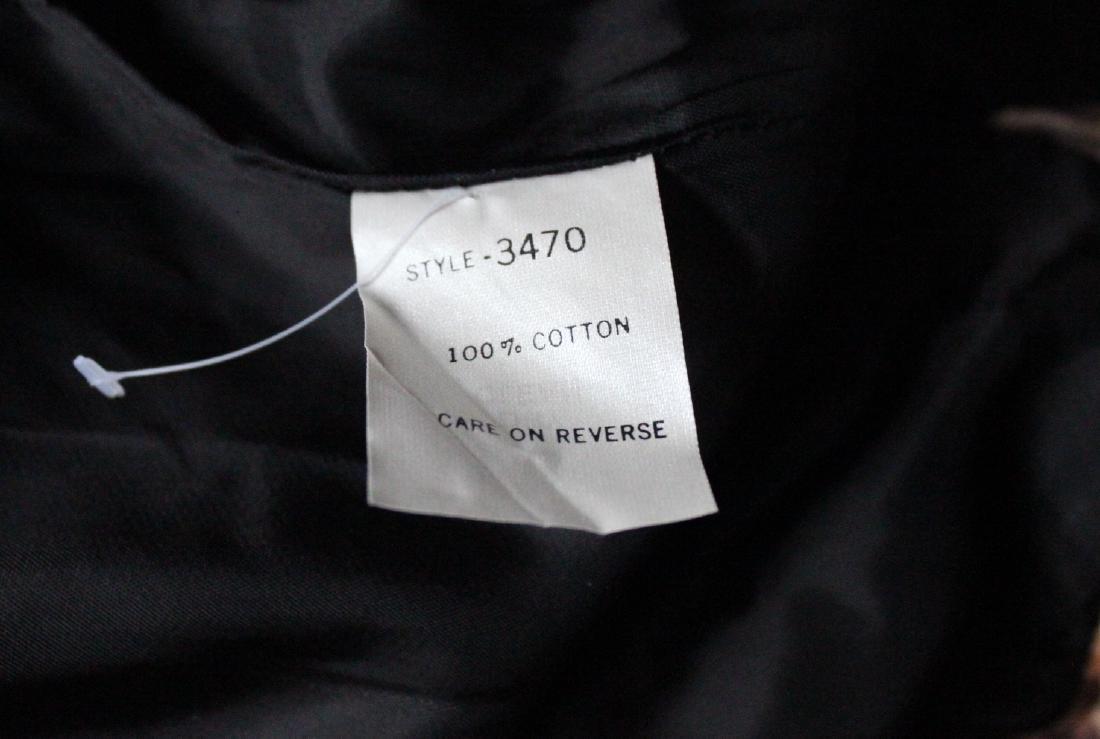 Perry Ellis Jaguar Print Velvet Suit, F/W 1987 - 6
