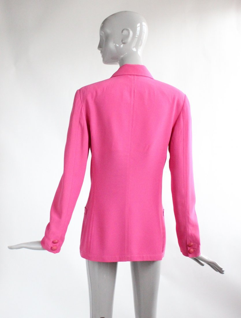 Gianni Versace Double Breasted Pink Jacket c.1990's - 2