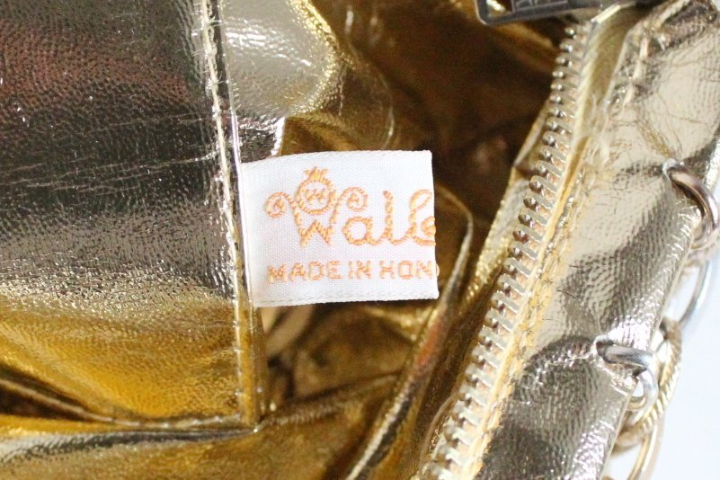 Paco Rabanne for Walborg Gold & Silver Metal Bag c1960s - 3