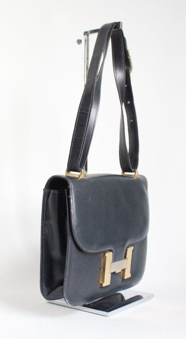 Lederer de Paris Constance H Buckle Shoulder Bag, 1970s - 2