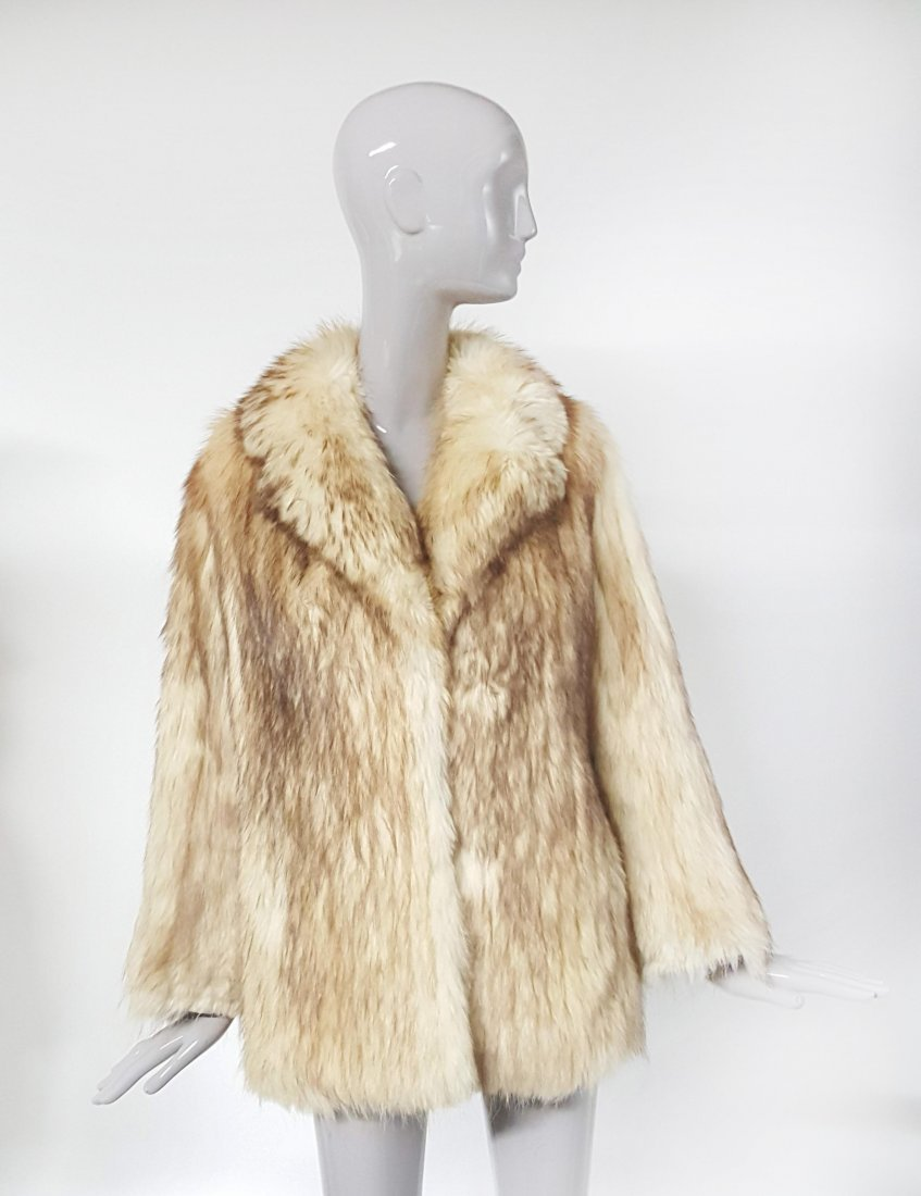 Givenchy Haute Fourrures Blond Fox Fur Coat, ca.1970's