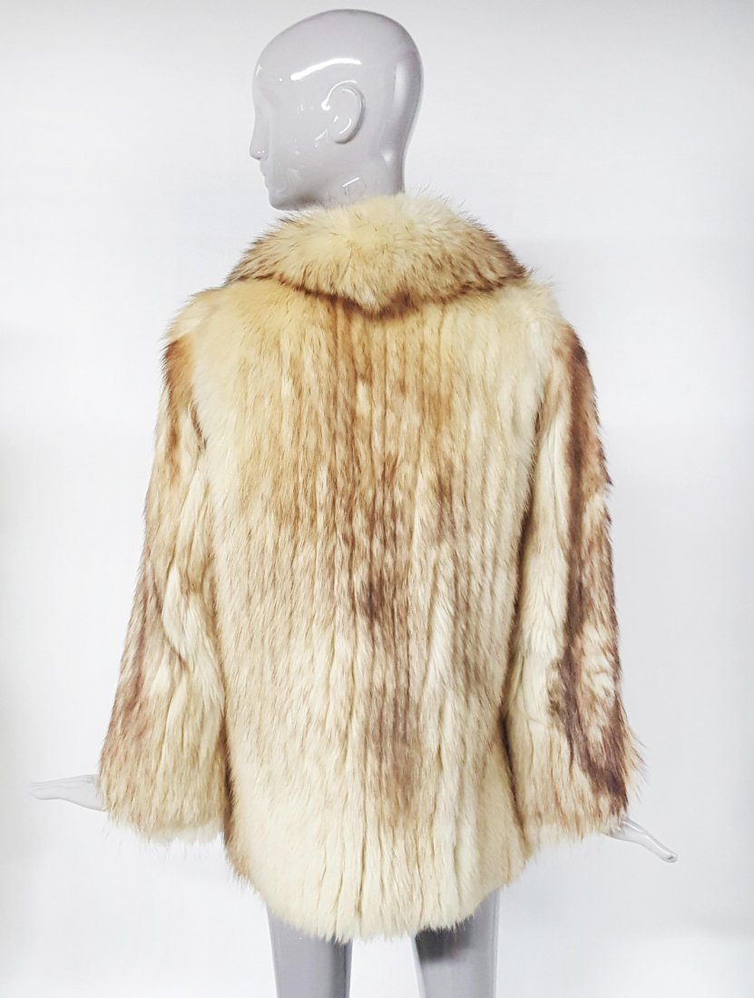 Givenchy Haute Fourrures Blond Fox Fur Coat, ca.1970's - 2