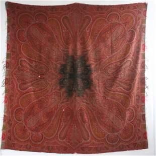 Antique 19th c. Paisley Shawl